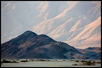 Hill and mountains, Panamint Valley. Death Valley National Park ( color)
