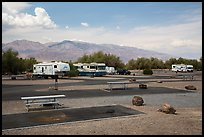 Furnace Creek Campground. Death Valley National Park ( color)