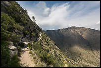 Guadalupe Peak Trail. Guadalupe Mountains National Park ( color)