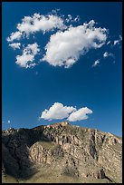 Clouds above Hunter Peak. Guadalupe Mountains National Park ( color)