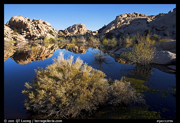 Picture Photo Barker Dam Pond And Rock Formations
