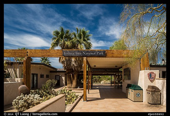Oasis Visitor Center. Joshua Tree National Park (color)