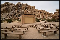 Amphitheater, Indian Cove Campground. Joshua Tree National Park ( color)