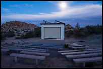 Amphitheater, Jumbo Rocks Campground. Joshua Tree National Park ( color)