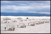 Picnic area. White Sands National Park ( color)