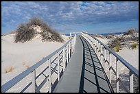 Interdune boardwalk. White Sands National Park ( color)