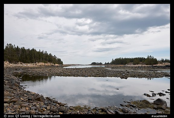 East Pond, Schoodic Peninsula. Acadia National Park, Maine, USA.