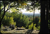 Ledges overlook. Cuyahoga Valley National Park ( color)