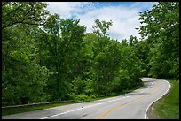 Gorge Parkway, Bedford Reservation. Cuyahoga Valley National Park ( color)