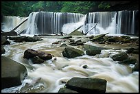 Great Falls, high flow, Bedford Reservation. Cuyahoga Valley National Park ( color)