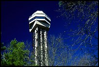 Hot Springs mountain tower. Hot Springs National Park, Arkansas, USA. (color)