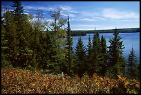 Lake Richie. Isle Royale National Park, Michigan, USA.