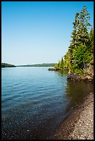 Beach, Caribou Island. Isle Royale National Park ( color)