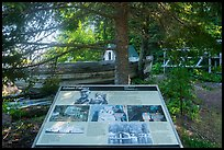 Edisen Fishery interpretive sign. Isle Royale National Park ( color)