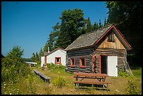 Net House and Edisen Cabin, Edisen Fishery. Isle Royale National Park ( color)