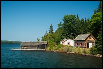 Pete Edisen Fishery. Isle Royale National Park ( color)