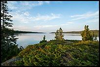 Moskey Basin, late afternoon. Isle Royale National Park ( color)
