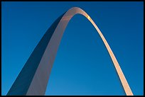 Eero Saarinen's Gateway Arch at sunrise. Gateway Arch National Park ( color)