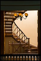 Staircase, Old Courthouse. Gateway Arch National Park ( color)