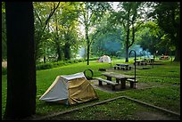 Houchin Ferry Campground. Mammoth Cave National Park ( color)