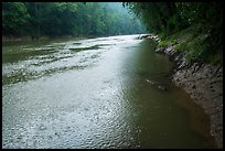 Rain, Green River. Mammoth Cave National Park ( color)