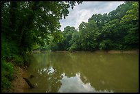 Green River at Dennison Ferry. Mammoth Cave National Park ( color)