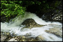 Robinson River whitewater in Whiteoak Canyon. Shenandoah National Park ( color)