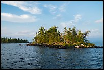 Islet, Rainy Lake. Voyageurs National Park ( color)