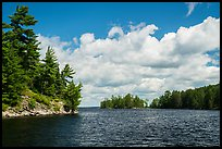 Browns Bay. Voyageurs National Park ( color)