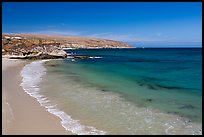 Bechers Bay with turquoise waters, Santa Rosa Island. Channel Islands National Park ( color)