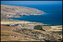 Vail and Vickers Ranch and Bechers Bay, Santa Rosa Island. Channel Islands National Park ( color)