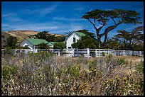 Vail and Vickers Ranch house, Santa Rosa Island. Channel Islands National Park ( color)