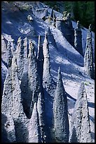 Ancient fossilized vents. Crater Lake National Park, Oregon, USA.