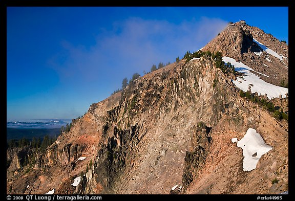 The Watchman. Crater Lake National Park (color)