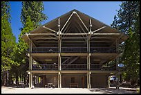 Cedar Grove Lodge. Kings Canyon National Park, California, USA.