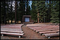 Amphitheater, Sunset Campground. Kings Canyon National Park ( color)