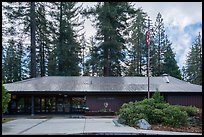 Grant Grove Visitor Center. Kings Canyon National Park ( color)
