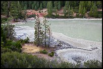 Boiling Springs Lake. Lassen Volcanic National Park ( color)