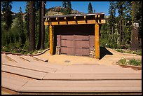 Amphitheater, Southwest campground. Lassen Volcanic National Park ( color)