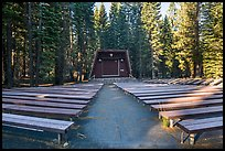 Amphitheater, Manzanita Lake Campground. Lassen Volcanic National Park ( color)