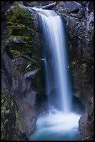Christine Falls. Mount Rainier National Park ( color)