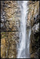 Upper Rainbow Falls, Stehekin, North Cascades National Park Service Complex.  ( color)