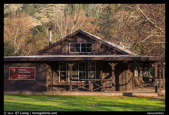 Visitor center and camp store. Pinnacles National Park (color)