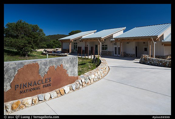 West Pinnacles Visitor Contact Station. Pinnacles National Park (color)