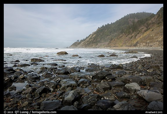 Enderts Beach. Redwood National Park (color)