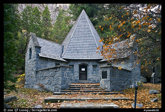 Le Conte Memorial. Yosemite National Park, California, USA.