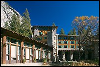 Ahwahnee lodge. Yosemite National Park, California, USA.