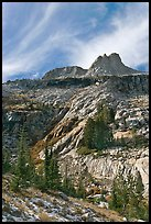 Mount Hoffman. Yosemite National Park, California, USA.
