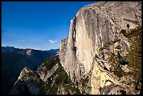 North-West face of Half-Dome. Yosemite National Park ( color)