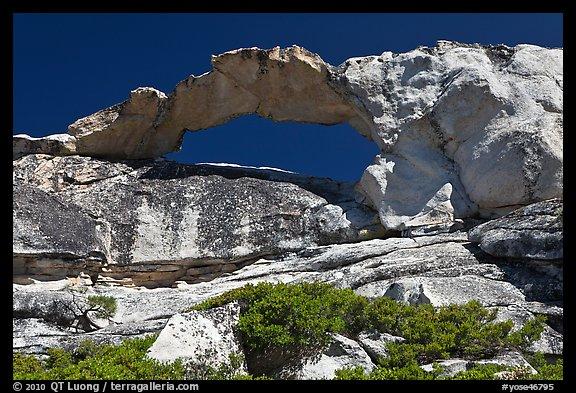 Picture Photo Rare Granite Arch Indian Rock Yosemite